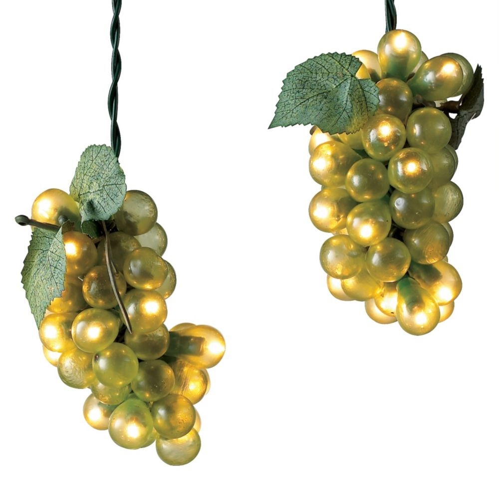 Wine Grape Lights – The Green Head Intended For Outdoor Hanging Grape Lights (View 2 of 15)