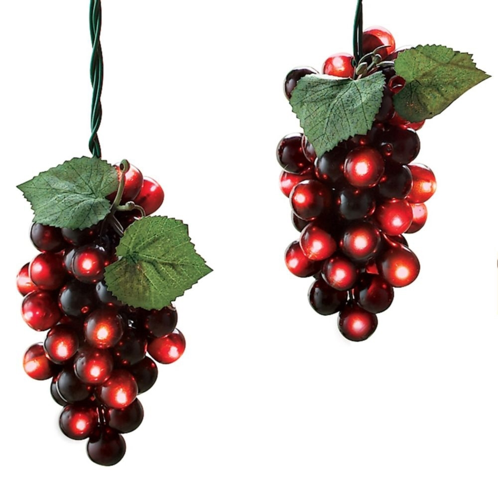 Popular Photo of Outdoor Hanging Grape Lights