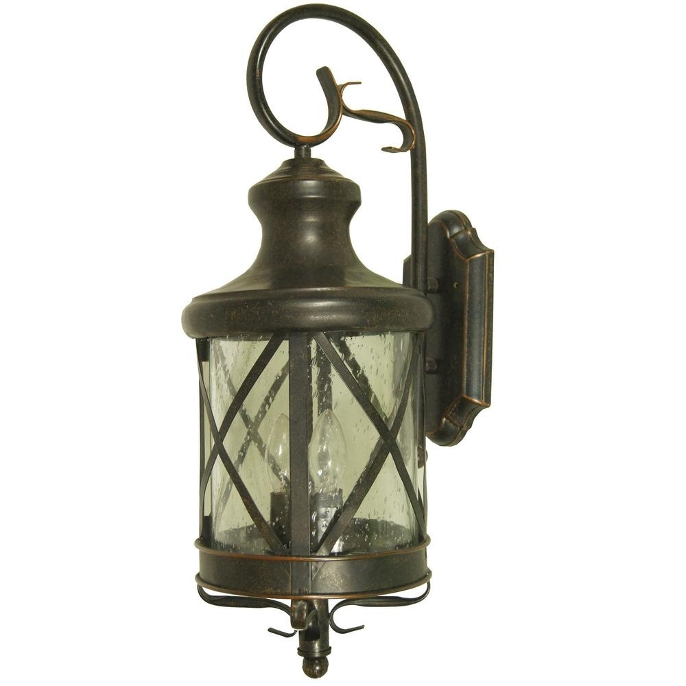 Y Decor Taysom 2 Light Oil Rubbed Bronze Outdoor Wall Mount Lantern Regarding Oil Rubbed Bronze Outdoor Wall Lights (#15 of 15)
