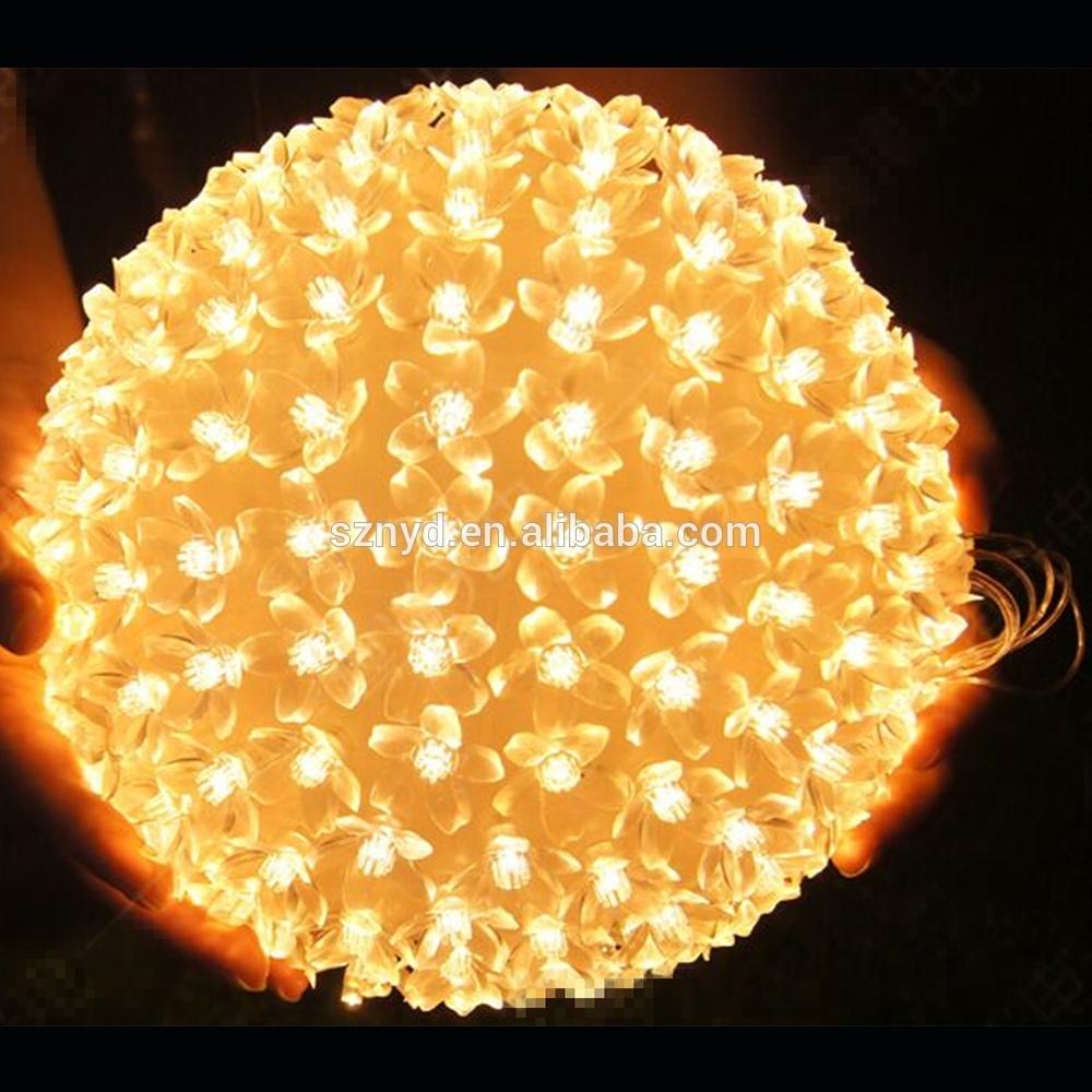 Yellow Christmas Ornament Balls Outdoor Hanging Light Balls Large Regarding Big Outdoor Hanging Lights (#15 of 15)