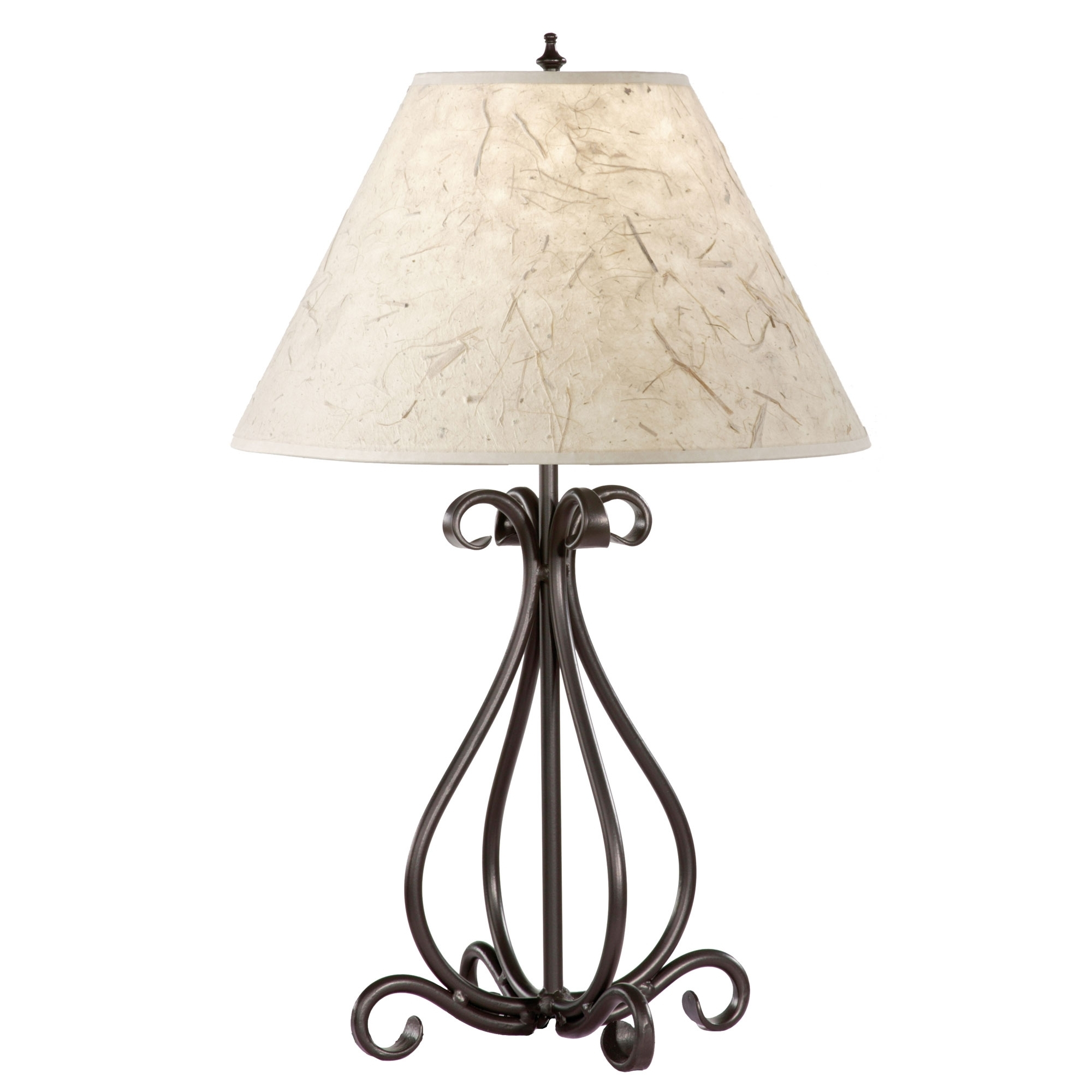 10 Important Facts That You Should Know About Wrought Iron Inside Wrought Iron Living Room Table Lamps (#1 of 15)