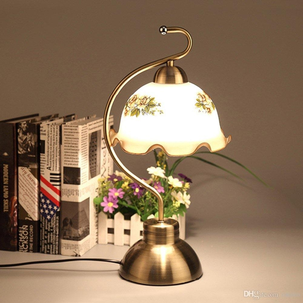 2018 Bronze Metal Study Room Table Lights European Vintage Living Regarding Vintage Living Room Table Lamps (#1 of 15)