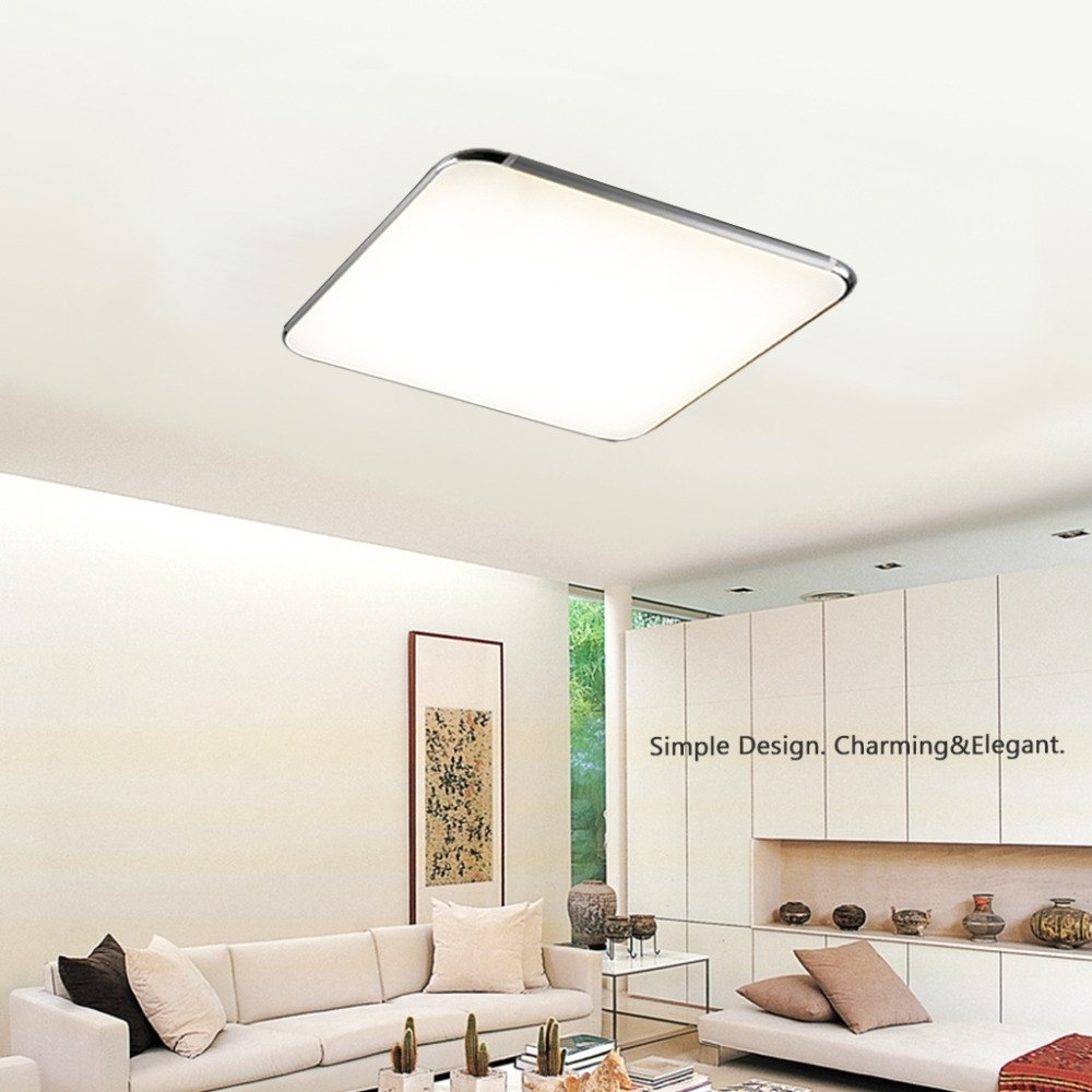 Inspiration about 30W Led Ceiling Light,2.4G Wireless Remote Control Dimming,25Inch In Wireless Living Room Table Lamps (#12 of 15)
