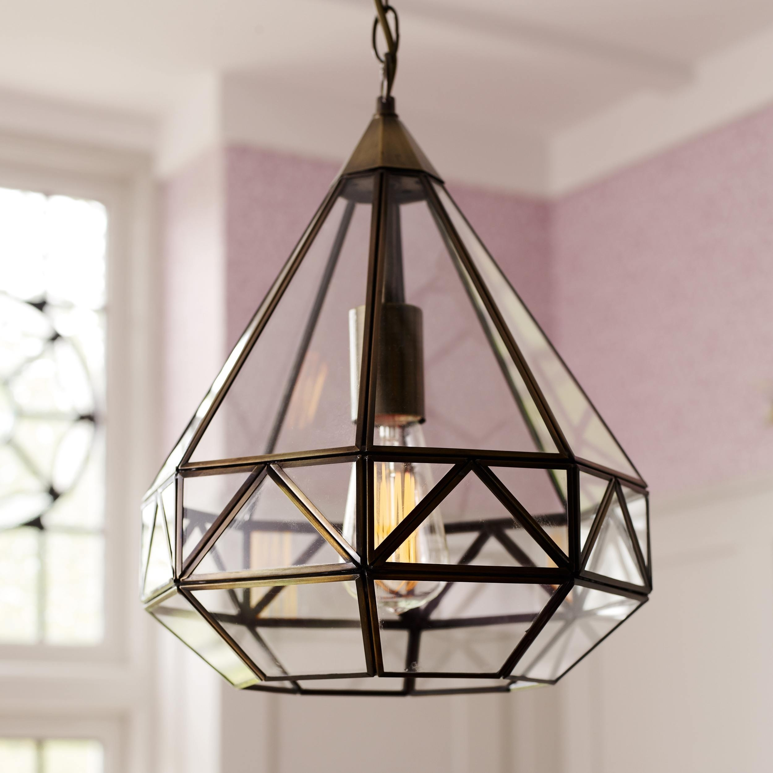Inspiration about 39 Most Blue Chip Resp Antique Kitchen Pendant Lighting Zaria Brass Regarding Laura Ashley Table Lamps For Living Room (#15 of 15)