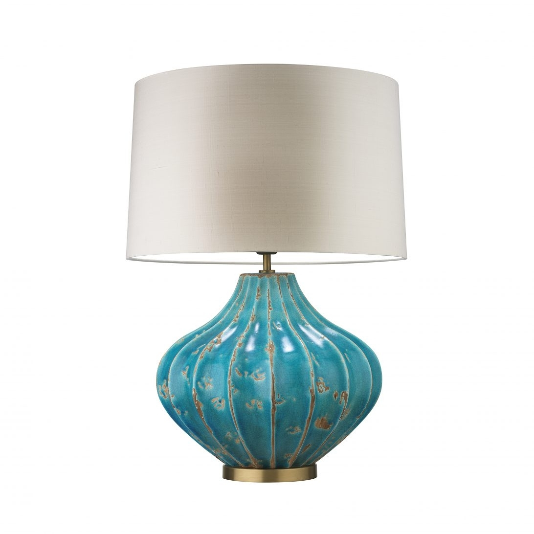 Inspiration about 62 Most Dandy Cheap Table Lamps Glass For Bedroom Silver Living Room Throughout Teal Living Room Table Lamps (#15 of 15)