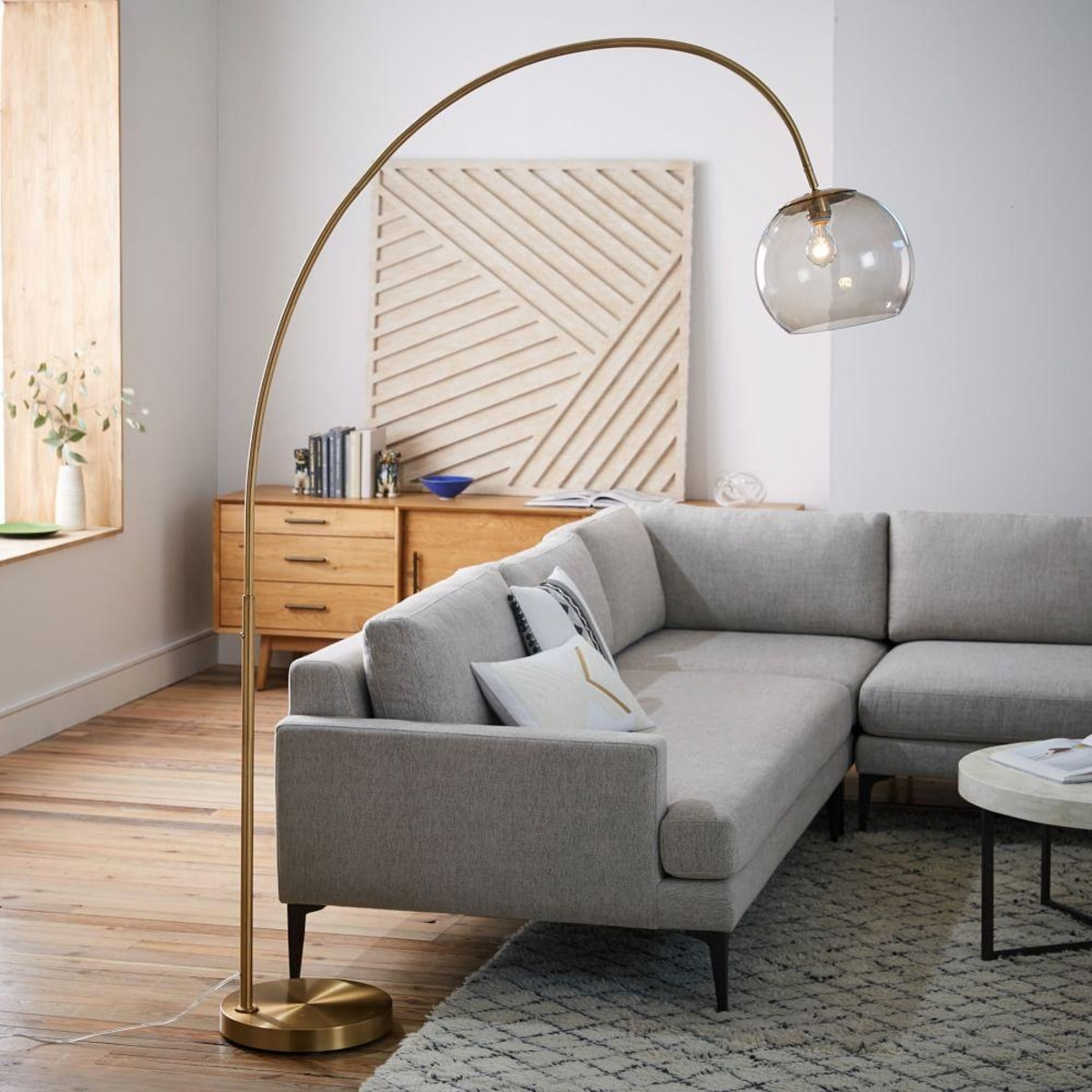 Acrylic Living Room Floor Lamps — S3Cparis Lamps Design : Fabulous Intended For Small Living Room Table Lamps (#1 of 15)