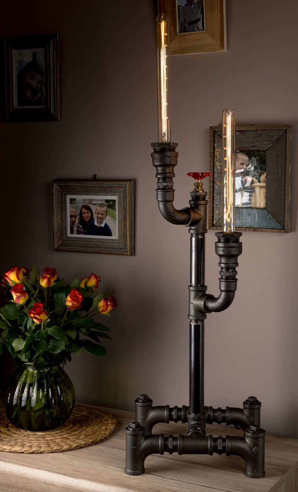 Popular Photo of Living Room Table Reading Lamps