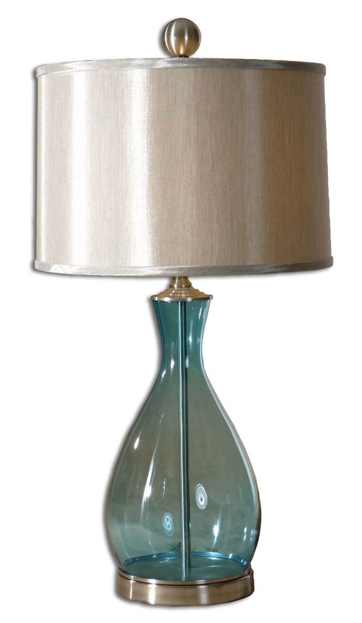 Blue Table Lamps For Living Room – Living Room Ideas Intended For Teal Living Room Table Lamps (#5 of 15)