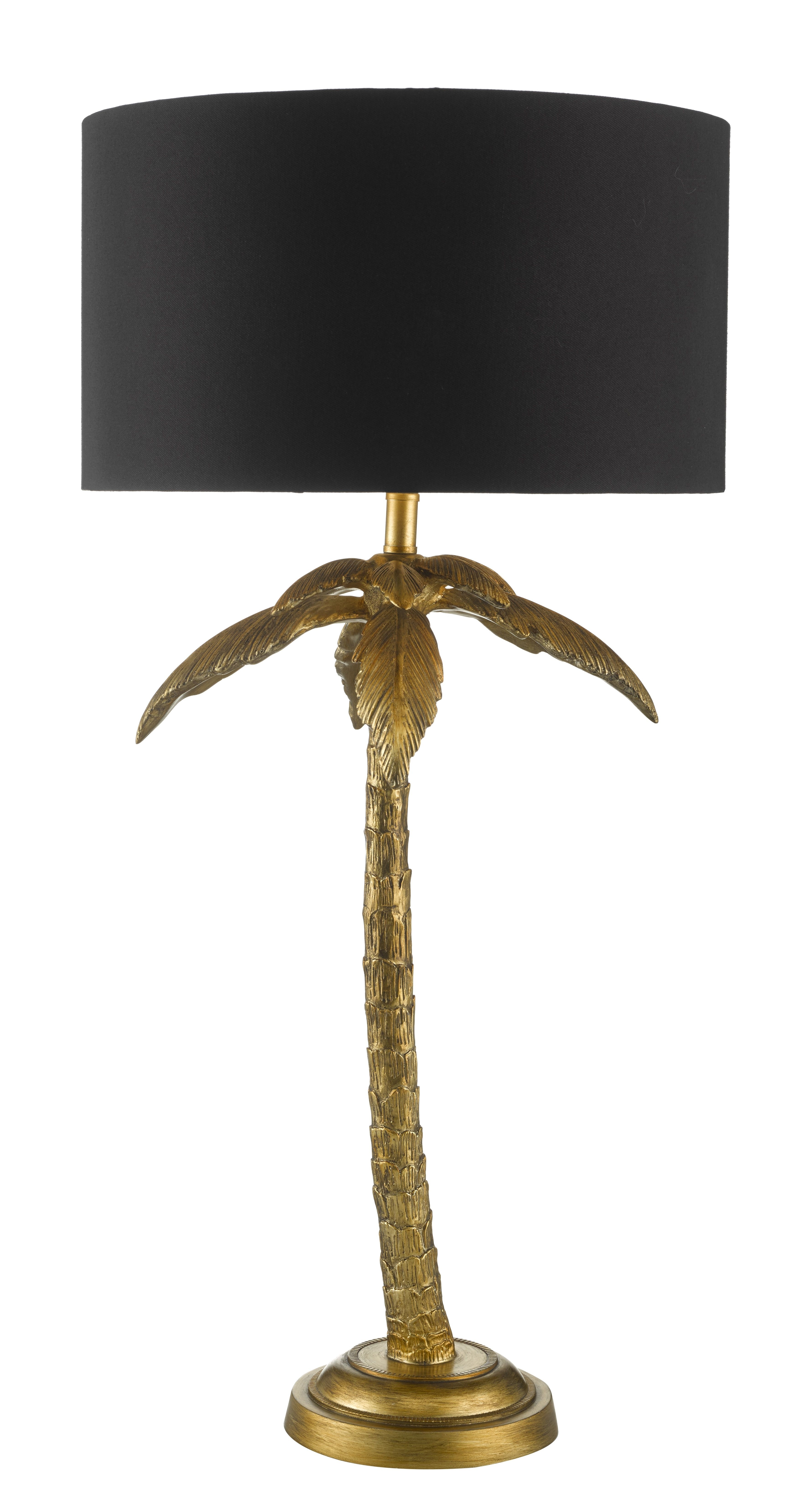 Coco Palm Table Light #lightingideas #industrialinterior With Regard To Debenhams Table Lamps For Living Room (#7 of 15)