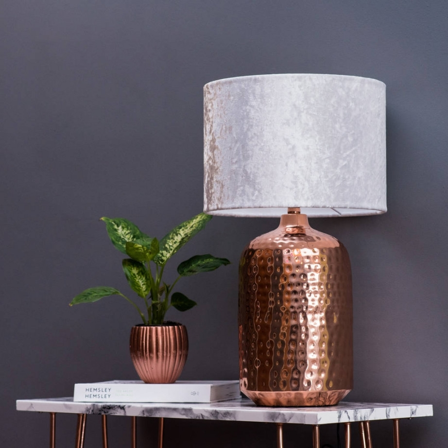 Copper Table Lamp Torchiere Lamps Target For Living Room Modern Uk In Living Room Table Lamps At Target (#4 of 15)