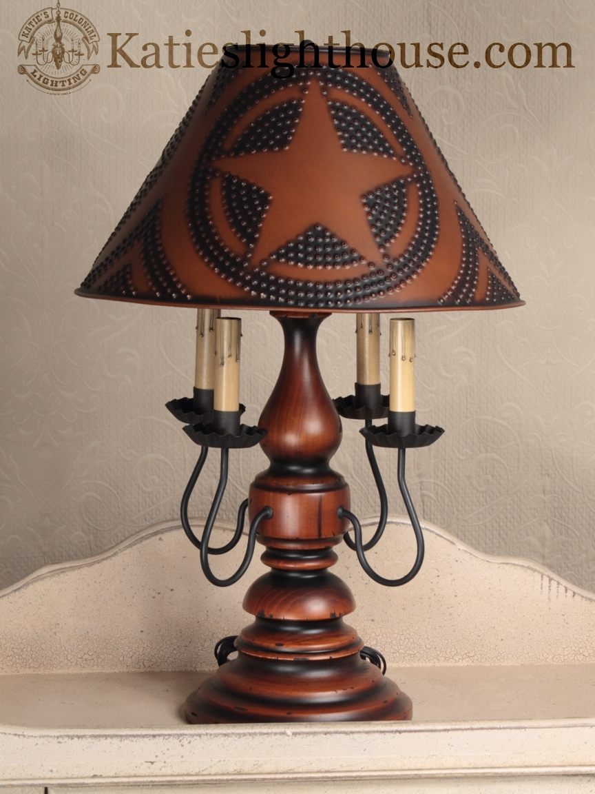 Country Table Lamps Living Room Elegant Primitive Lighting – Living Regarding Primitive Living Room Table Lamps (#6 of 15)