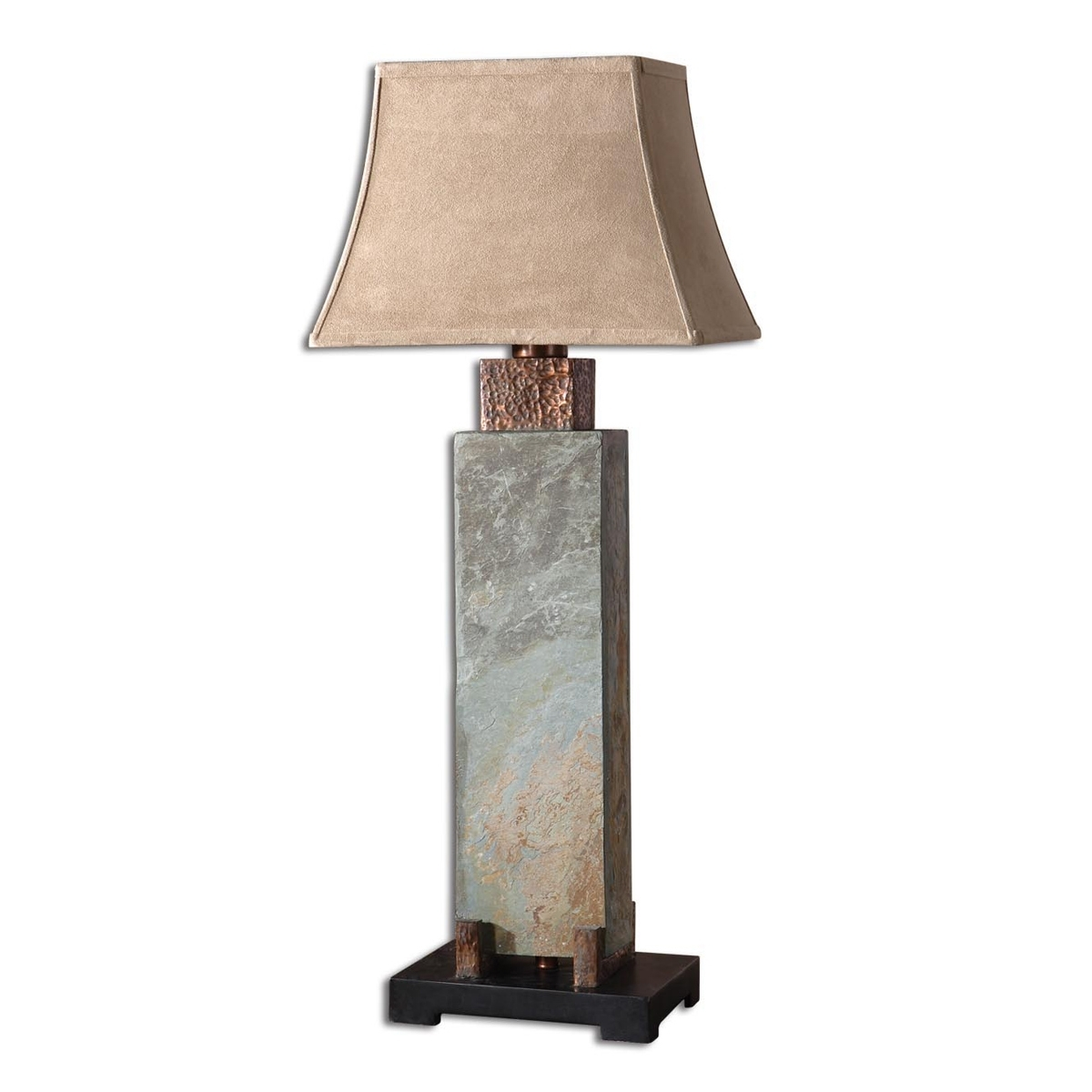 Creative Decoration Rustic Table Lamps For Living Room Rustic Table Regarding Tall Table Lamps For Living Room (#2 of 15)