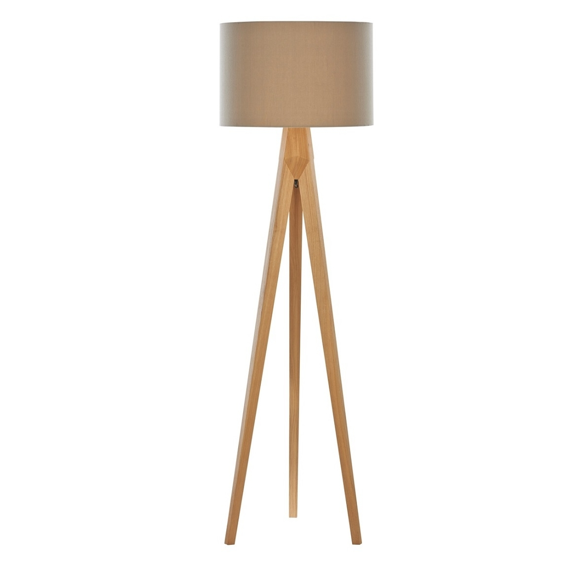 Inspiration about Debenhams Home Collection 'hudson' Wooden Tripod Floor Lamp Living In Debenhams Table Lamps For Living Room (#2 of 15)