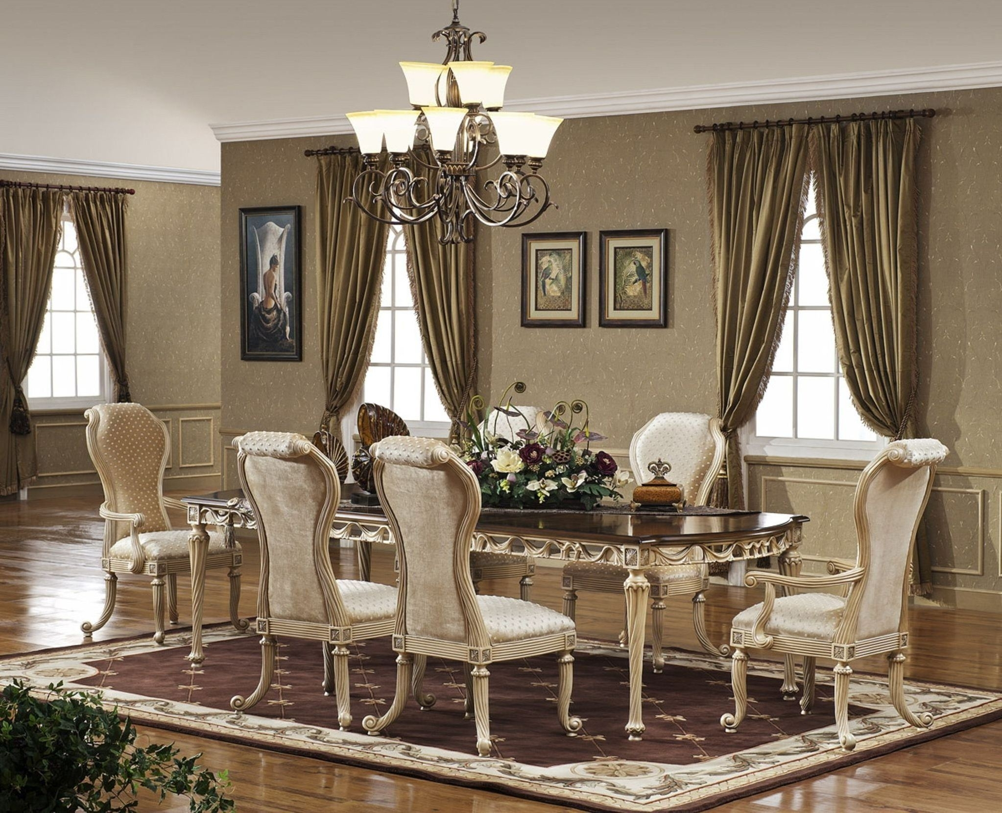 Inspiration about Dining Table Rug Walmart Rectangle Brown Minimalist Varnished Wood Regarding Elegant Living Room Table Lamps (#5 of 15)