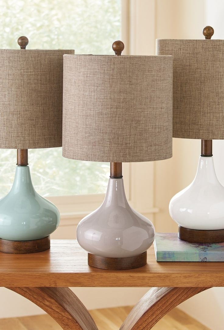 Elegant Table Lamps Living Room — Table Design : Choosing Elegant With Teal Living Room Table Lamps (#8 of 15)