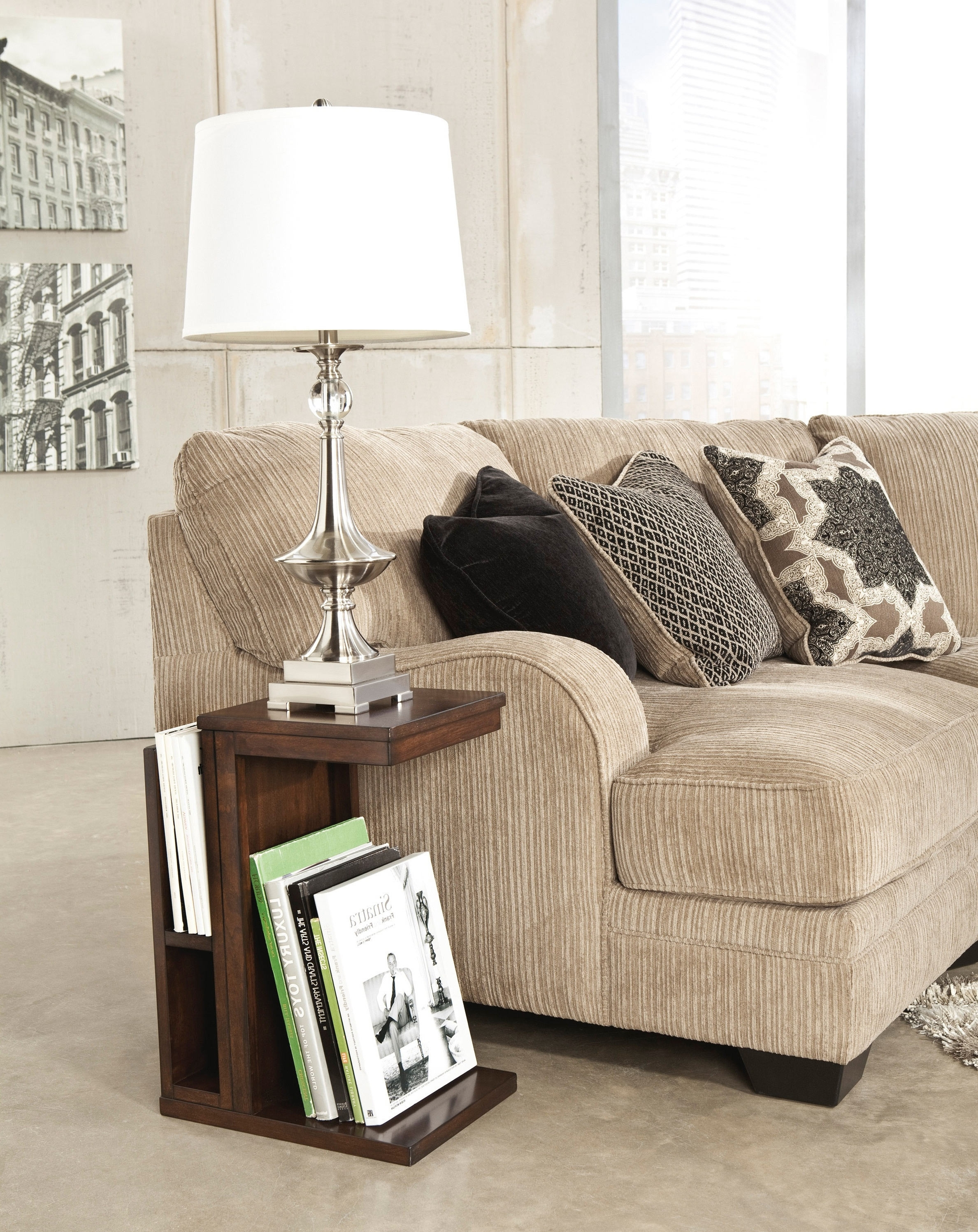 End Tables : Living Room Modern End Table Lamp Design With White With Living Room End Table Lamps (#8 of 15)