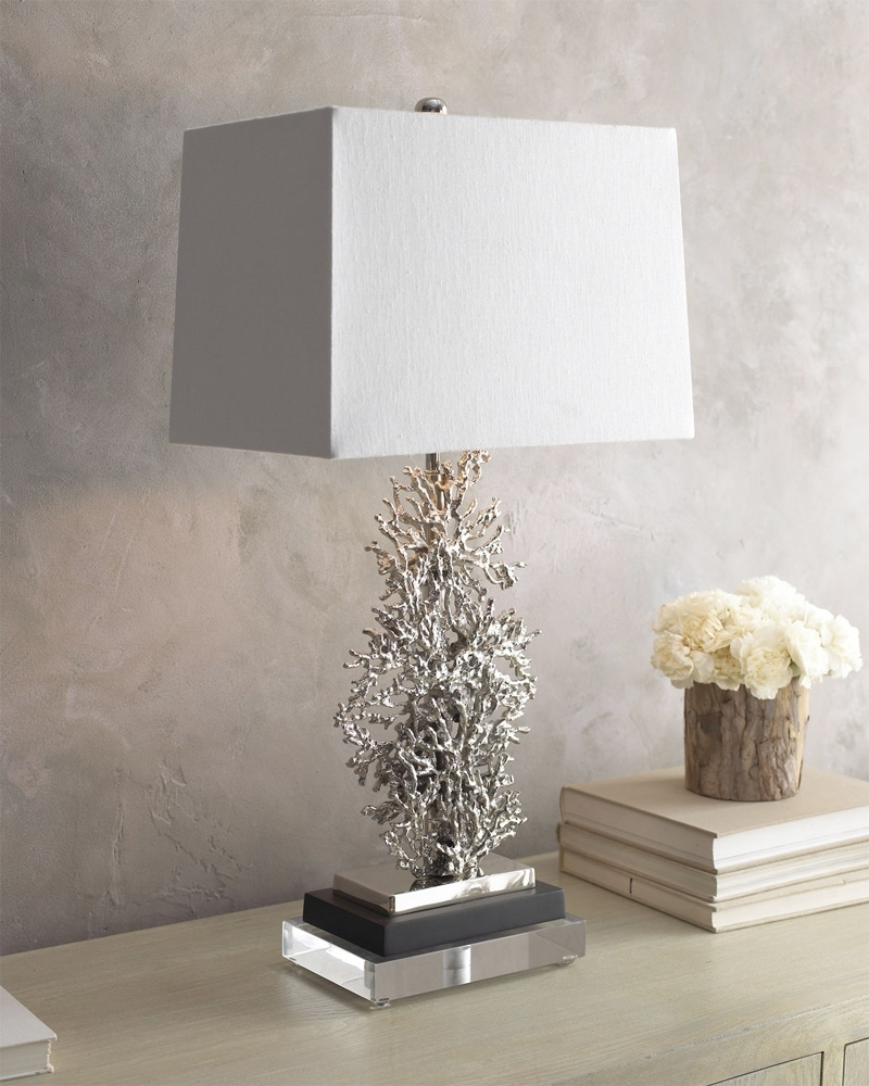 Excellent Ideas Silver Table Lamps Living Room Table Lamp Pertaining To Silver Table Lamps For Living Room (#6 of 15)