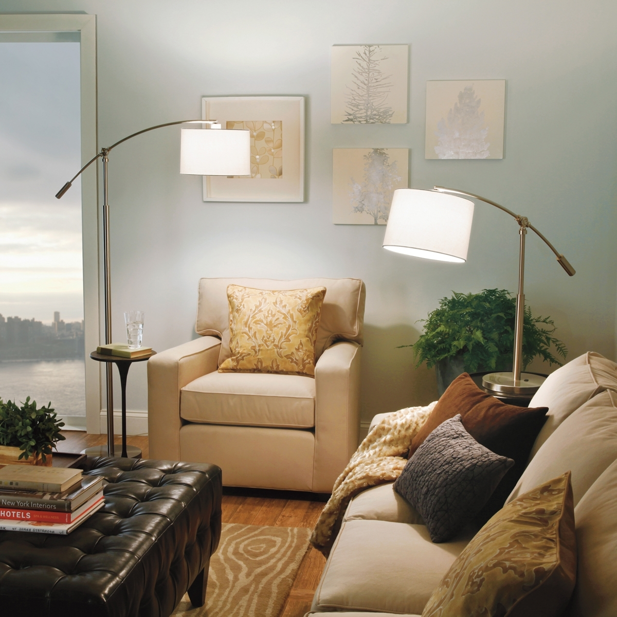 Floor Lamps Amazon — Umpquavalleyquilters : Light Up Your With Living Room Table Reading Lamps (#8 of 15)