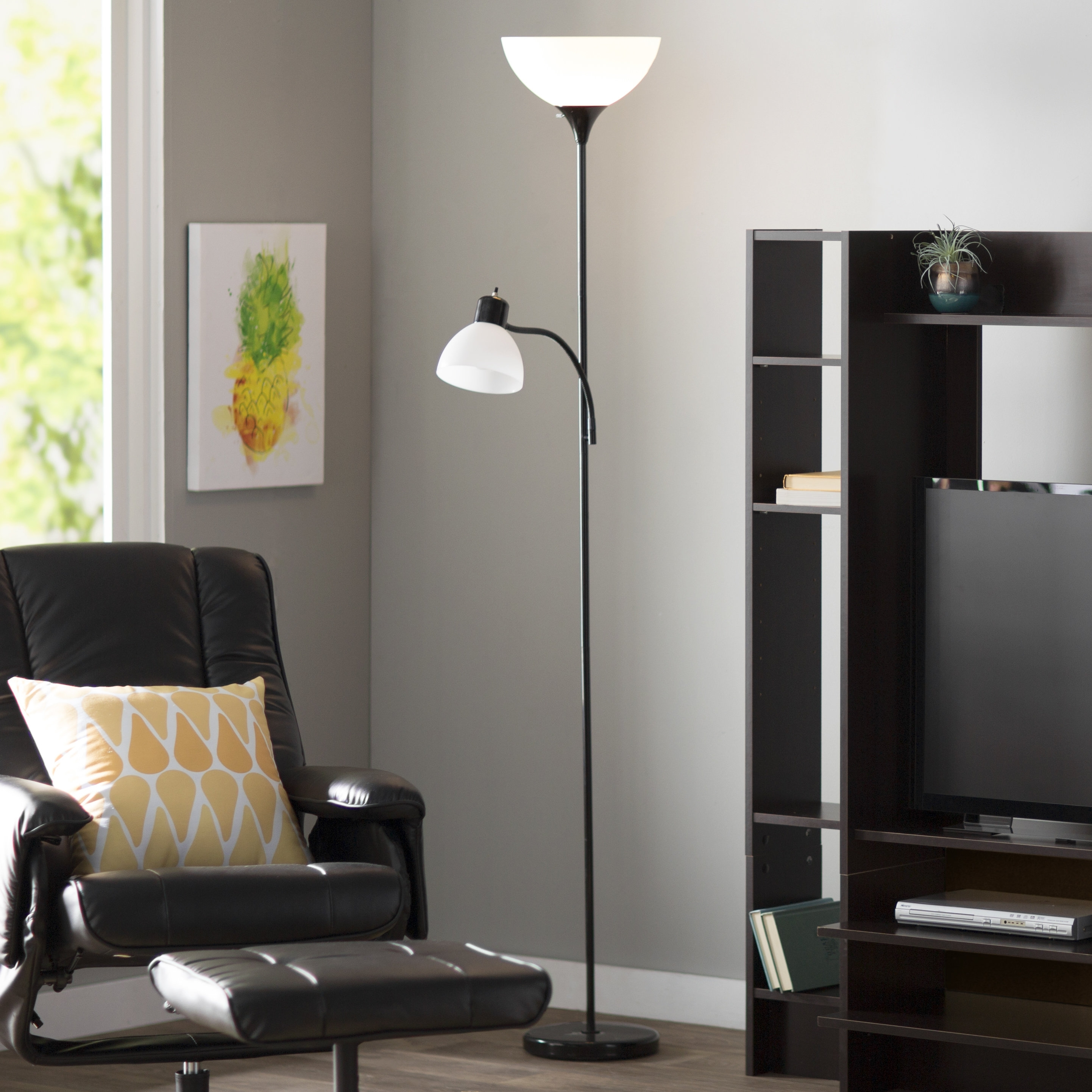 Floor Lamps You'll Love | Wayfair For Transitional Living Room Table Lamps (#6 of 15)