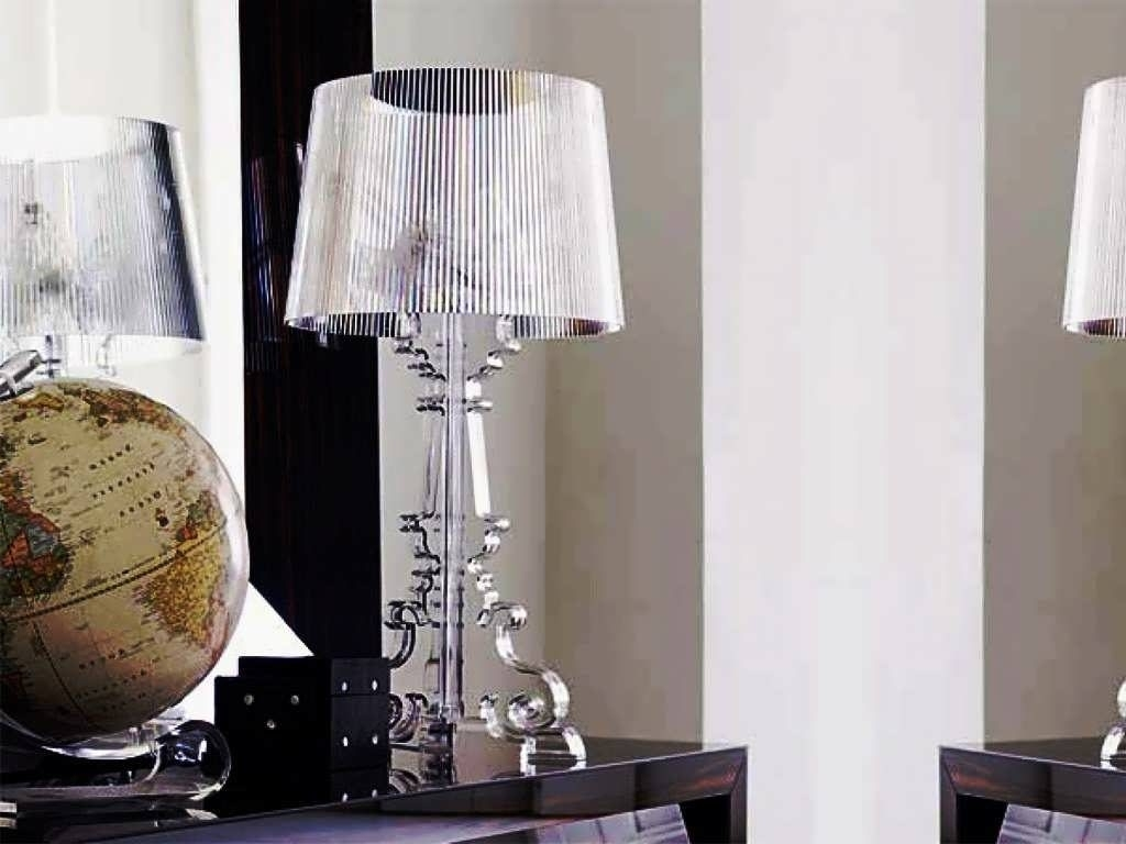 Glass Table Lamps For Living Room Design — Table Design : Dazzling Pertaining To Glass Living Room Table Lamps (#7 of 15)