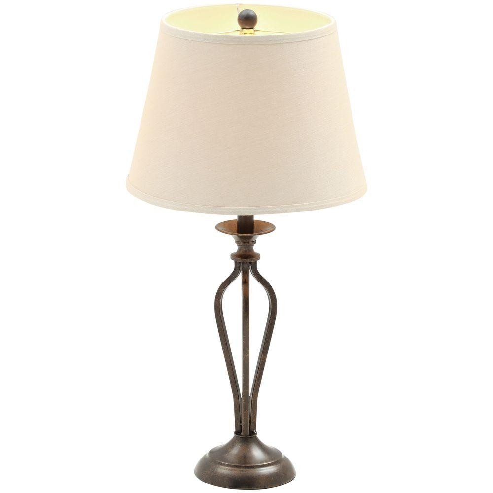 Popular Photo of Living Room Table Lamps At Home Depot