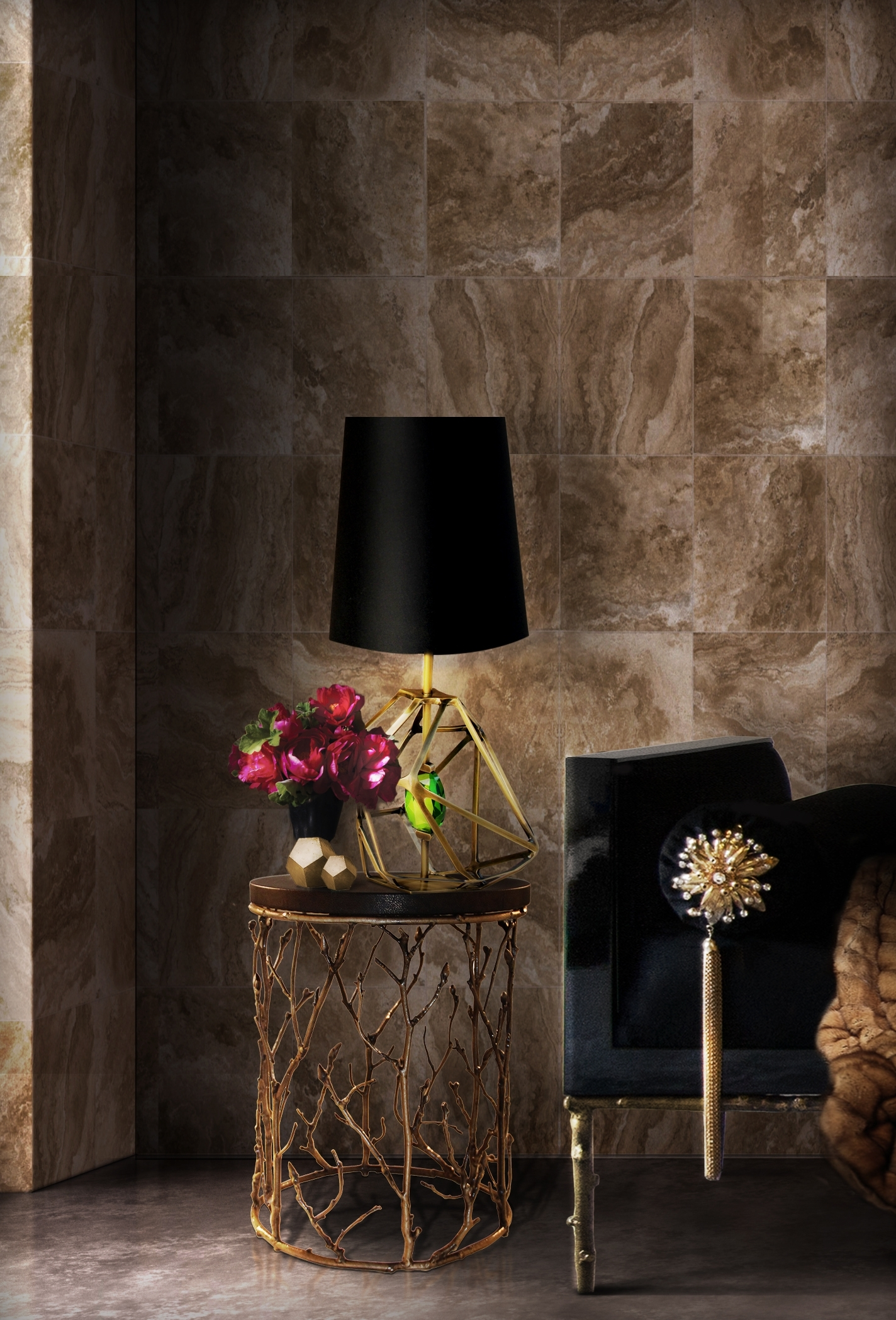 How To Decorate Your Living Room With Floor And Table Lamps In Table Lamps For The Living Room (View 15 of 15)