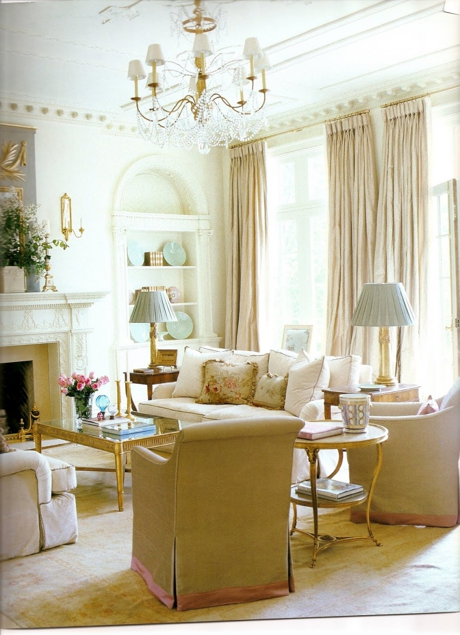 Inspiration about Interior: Glamorous Ideas For Neutral Living Room Color Decoration Throughout Living Room Coffee Table Lamps (#14 of 15)