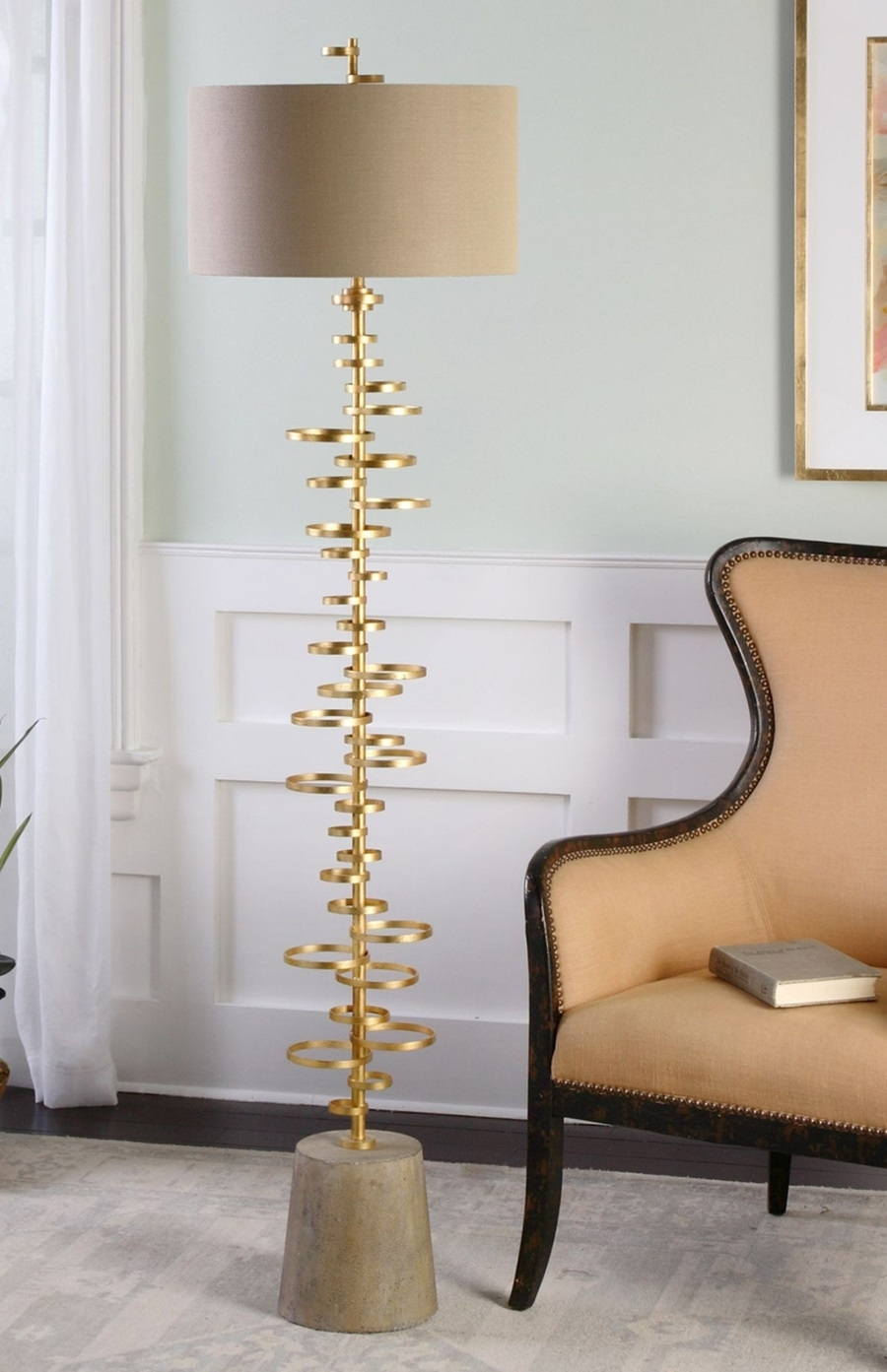 Lamp : Modernloor Lampsor Living Room Wayfair With Table Tray Gold Pertaining To Wayfair Living Room Table Lamps (#6 of 15)