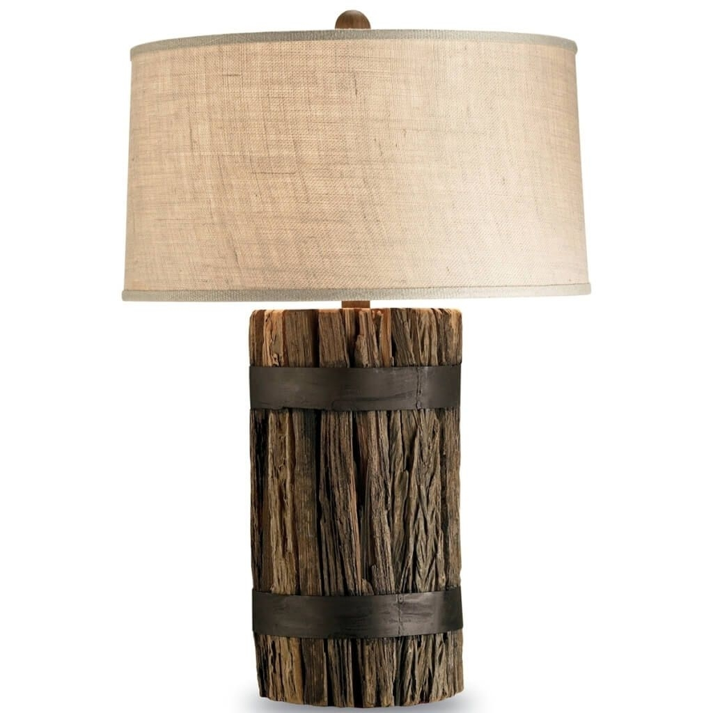 Inspiration about Lamp : Rustic Lamp Shades For Table Lamps With Tree Wood Twig Swag Regarding Rustic Living Room Table Lamps (#10 of 15)