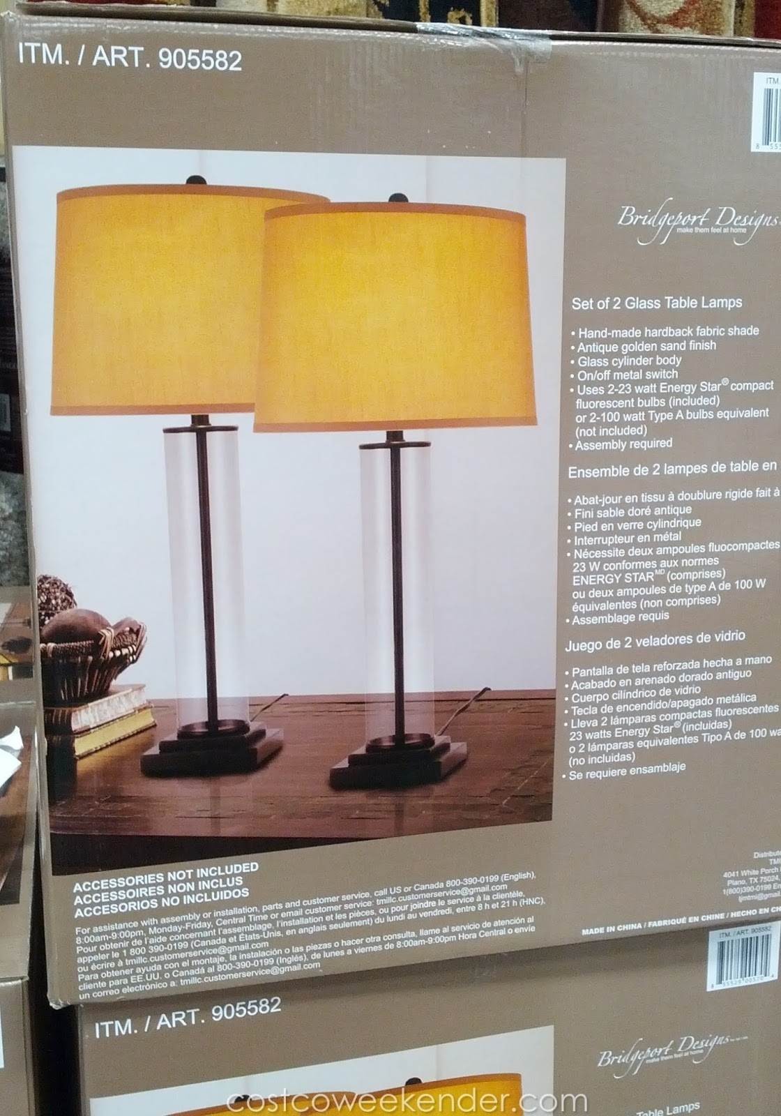 15 Inspirations of Costco Living Room Table Lamps