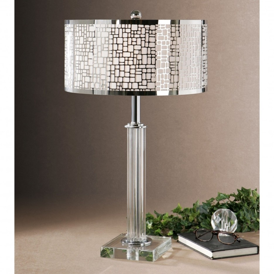 Lamp : Table Lamps Amazon Com Lighting Ceiling Fans Shades Classy With Regard To Living Room Table Lamp Shades (#7 of 15)