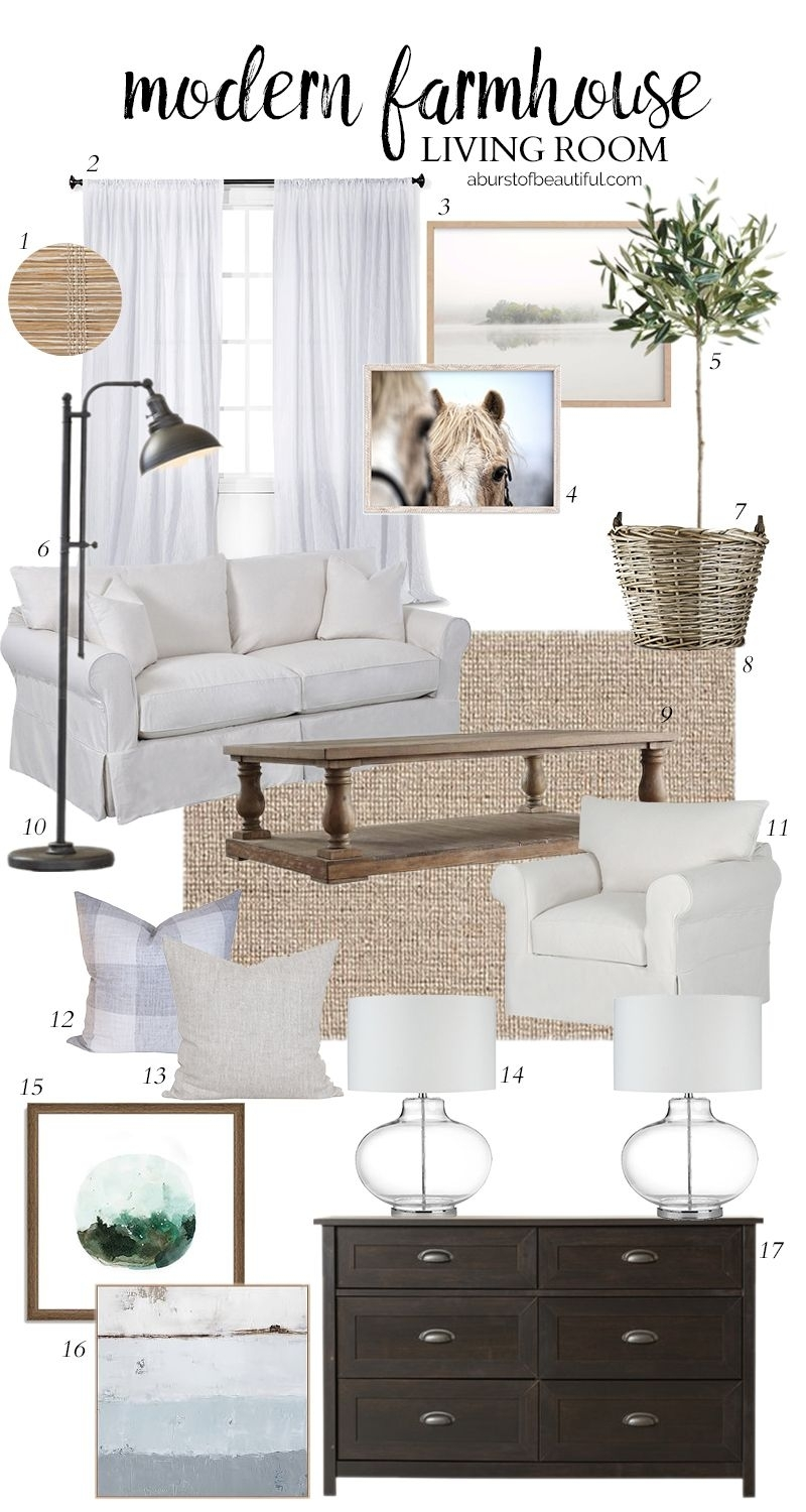 Inspiration about Living Room Design Plans | Pinterest | Farmhouse Living Rooms Regarding Country Style Living Room Table Lamps (#12 of 15)