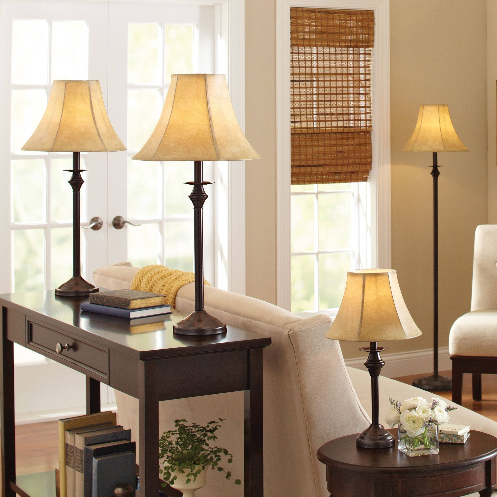 Inspiration about Living Room Lamp Sets – Left.handsintl.co In Walmart Living Room Table Lamps (#8 of 15)