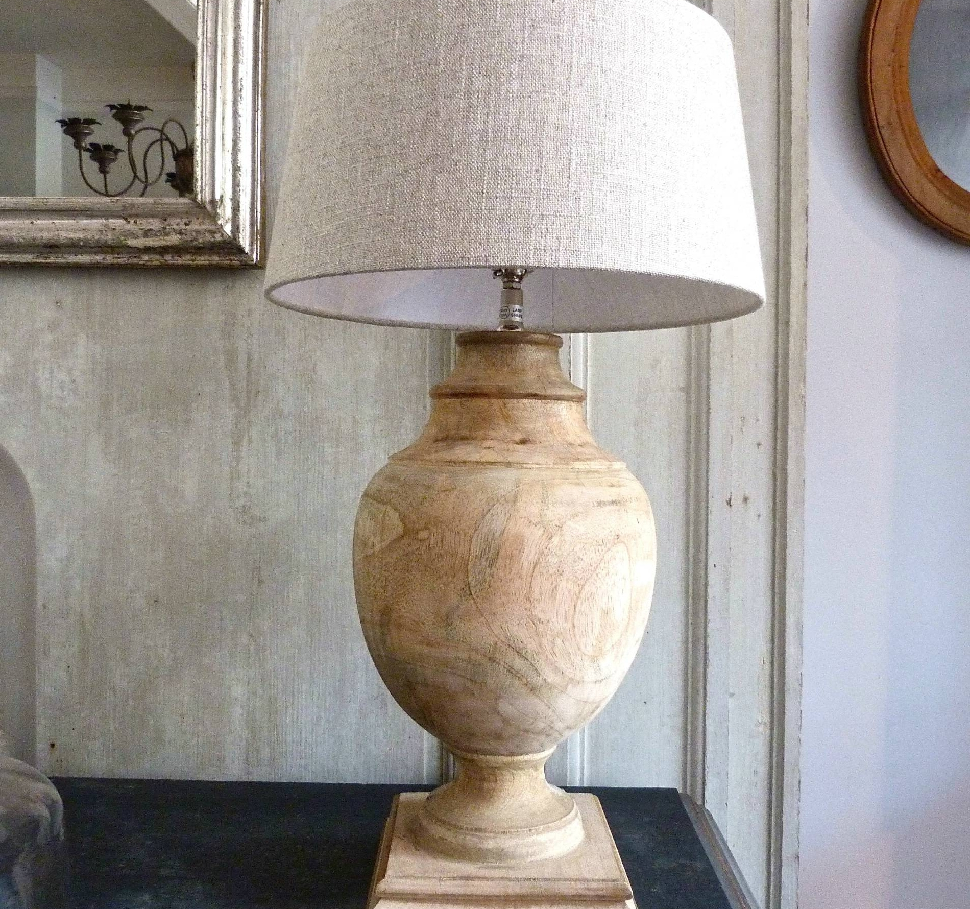 Inspiration about Living Room Large Table Lamps For Rustic Distressed Solid Wood Intended For Large Table Lamps For Living Room (#8 of 15)