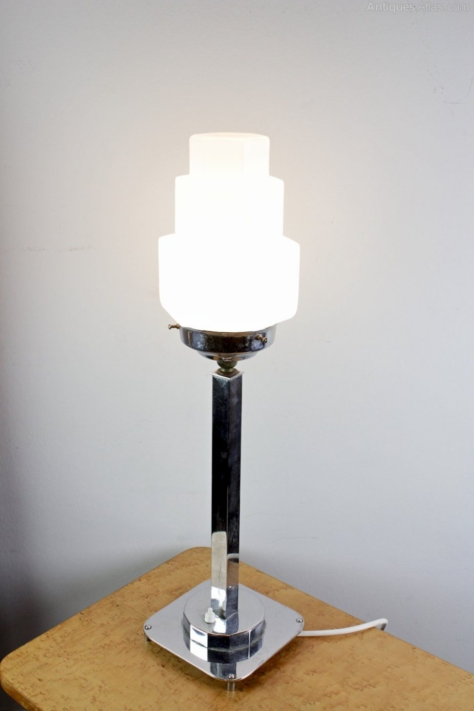 Livingroom : Antique Art Deco Table Lamps — Design The Categories Of Inside Table Lamps For Living Room At Ebay (#9 of 15)