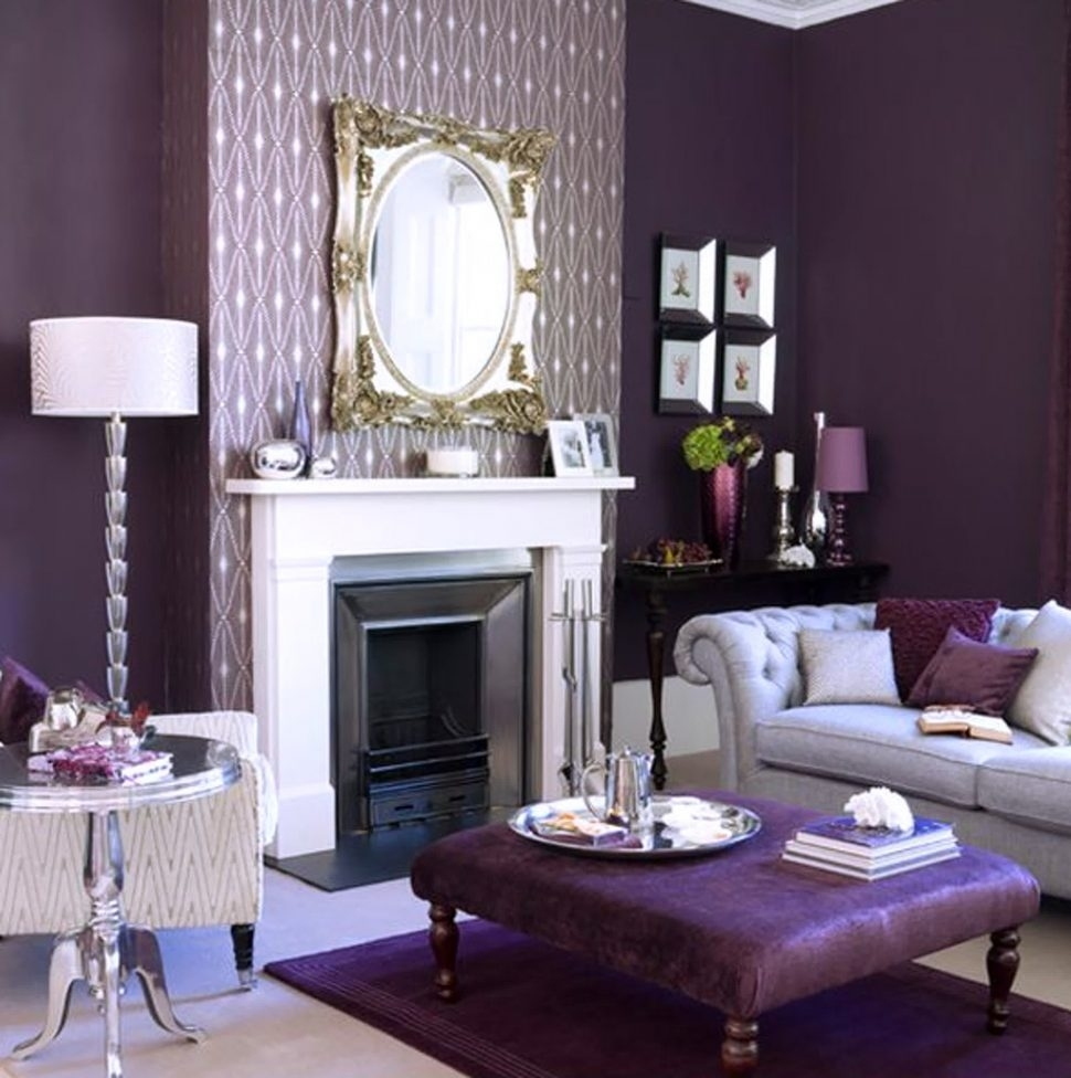 Inspiration about Livingroom : Astounding Best Of Purple Living Room Chairs Photos Regarding Purple Living Room Table Lamps (#8 of 15)
