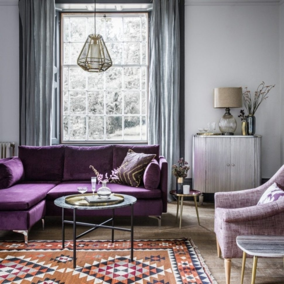 Inspiration about Livingroom : Purple Living Room Furniture And Grey Ideas Table Lamps Regarding Purple Living Room Table Lamps (#15 of 15)