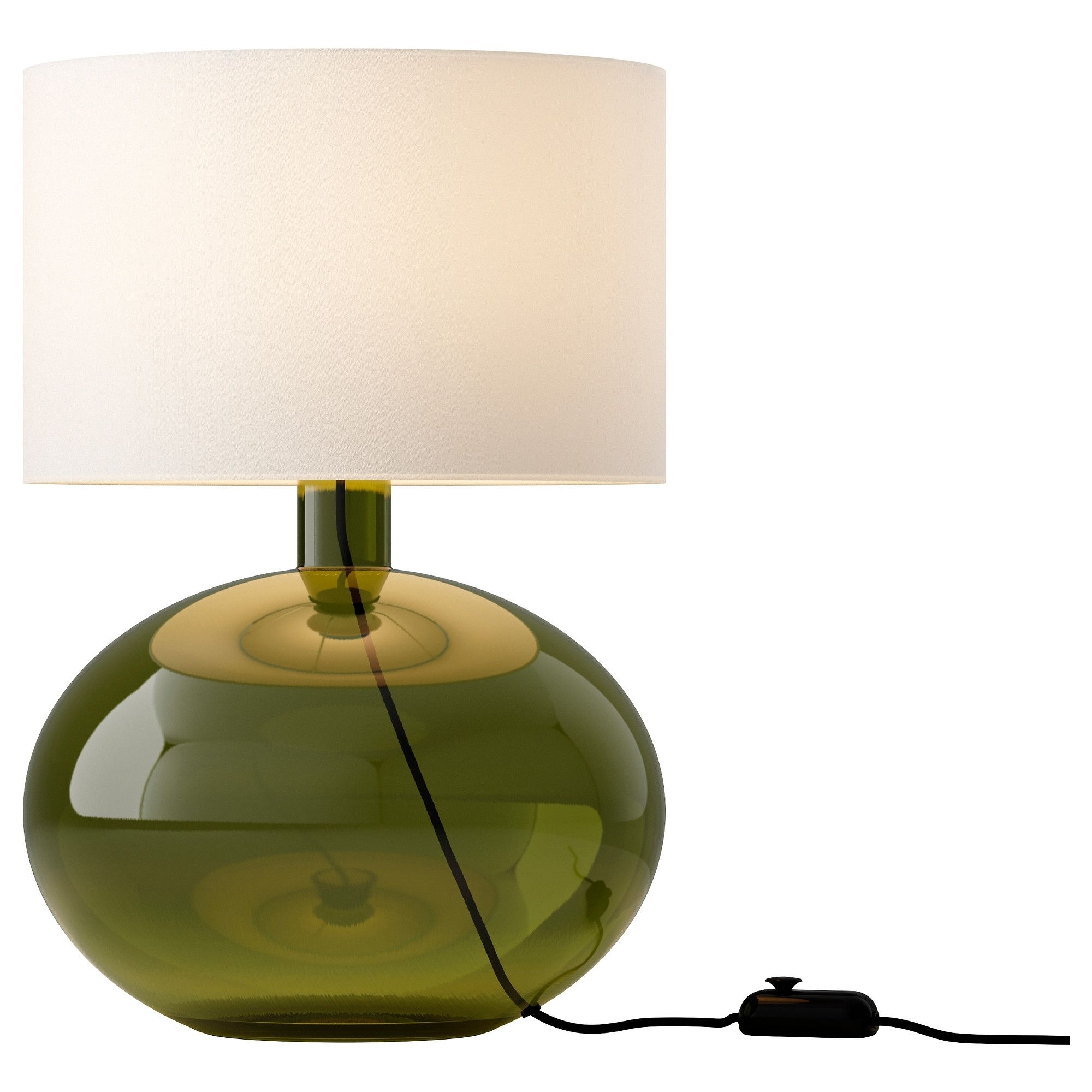 Ljusås Ysby Table Lamp – Green – Ikea | +Home: S M A L L Intended For Living Room Table Lamps At Ikea (#10 of 15)