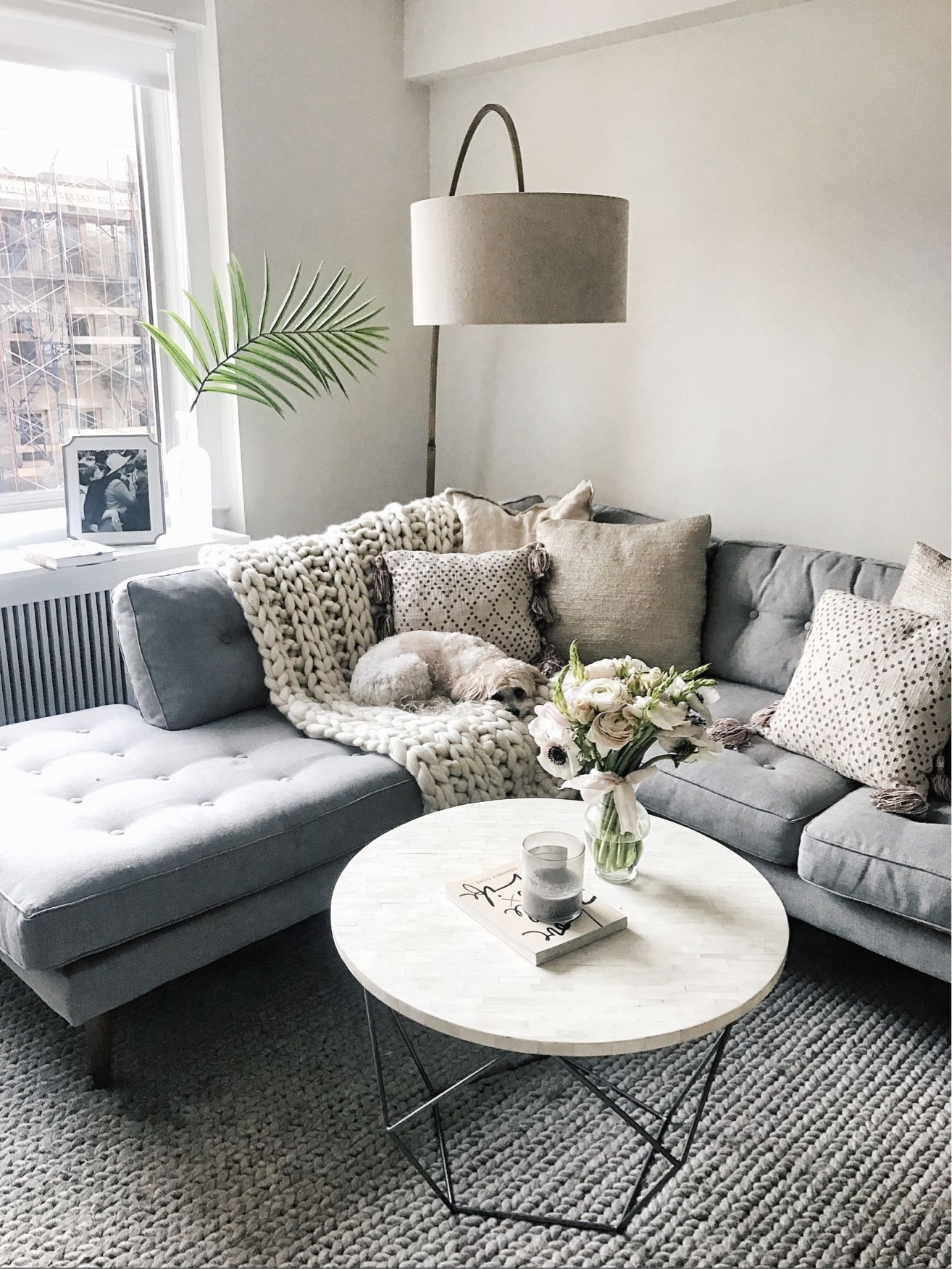 Inspiration about Love This West Elm Lamp/round Coffee Table) @liketoknow.it Http Intended For Living Room Coffee Table Lamps (#4 of 15)