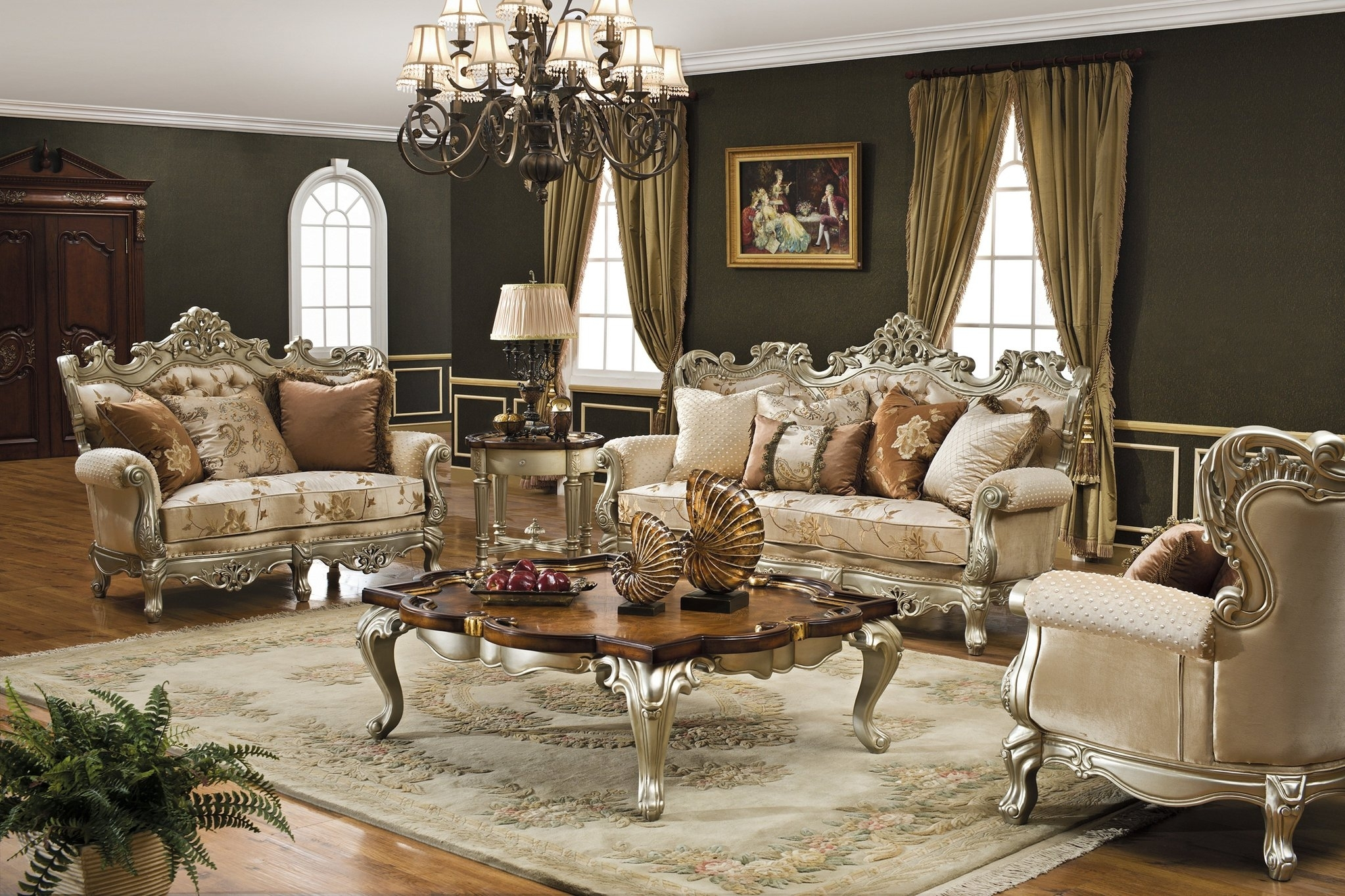 Inspiration about Luxury Living Room Sets – Left.handsintl.co With Regard To Formal Living Room Table Lamps (#3 of 15)