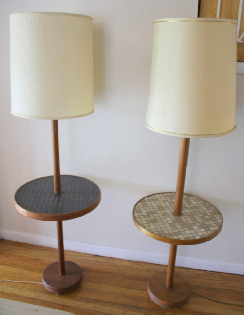 Nightstands : Living Room End Table Lamps Vintage Decoration And With Regard To Vintage Living Room Table Lamps (#11 of 15)