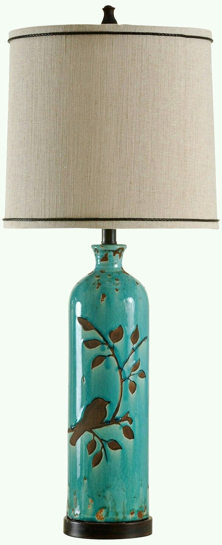 Pinguzin Oz On Iki | Pinterest | Pottery Ideas, Pottery And Intended For Teal Living Room Table Lamps (#12 of 15)