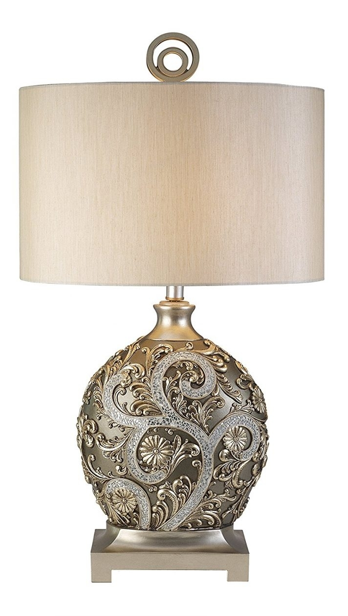 Inspiration about Plain Design Silver Table Lamps Living Room Silver Table Lamps In Antique Living Room Table Lamps (#13 of 15)