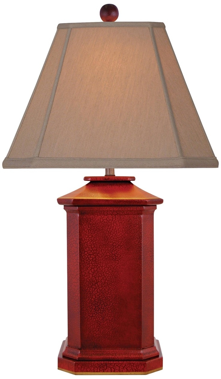 Inspiration about Red Living Room Lamps – Left.handsintl.co Throughout Red Living Room Table Lamps (#1 of 15)
