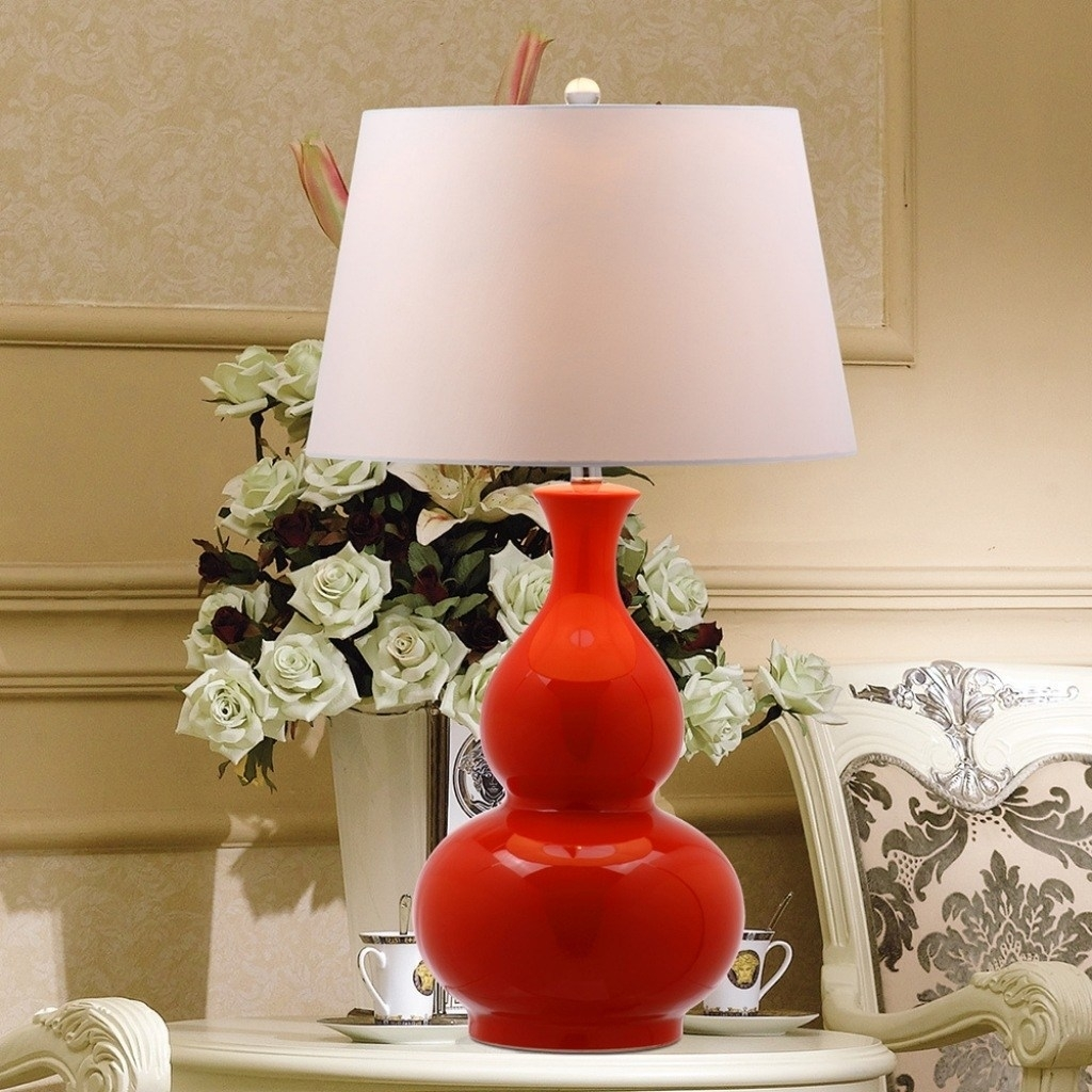 Inspiration about Red Living Room Lamps – Left.handsintl.co Within Red Living Room Table Lamps (#10 of 15)