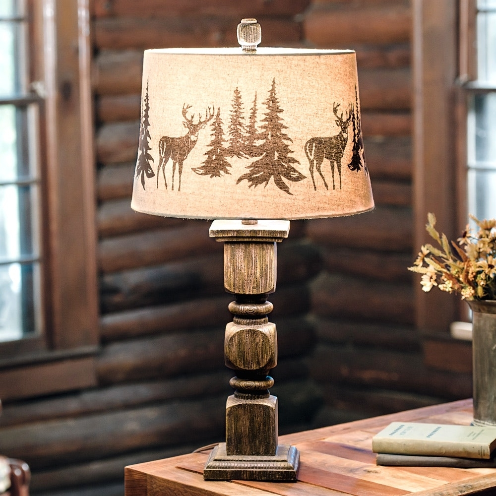 Rustic Table Lamps For Living Room – Living Room Ideas For Rustic Living Room Table Lamps (#8 of 15)