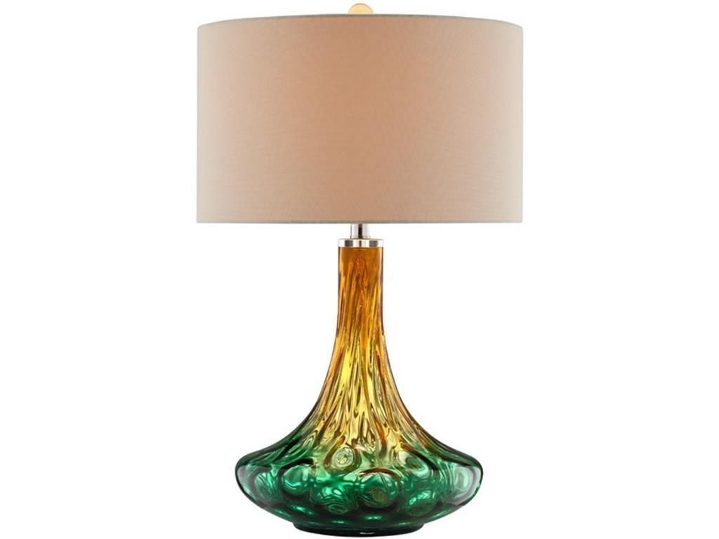 Stein World Living Room Carina Art Glass Table Lamp, Glass Table For Glass Living Room Table Lamps (#13 of 15)