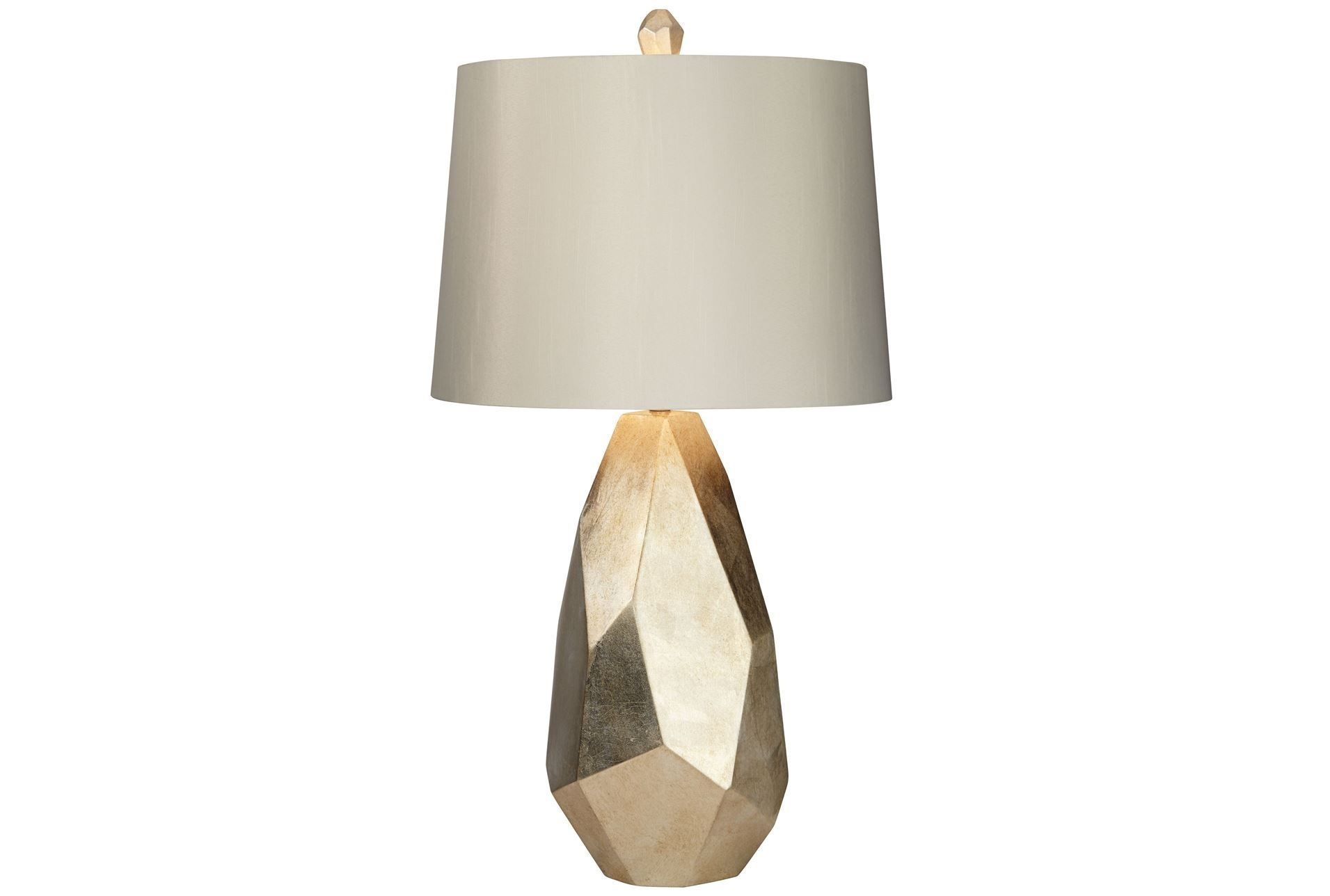 Inspiration about Table Lamp Faceted Gold | Living Spaces, Spaces And Living Rooms Pertaining To Gold Living Room Table Lamps (#15 of 15)