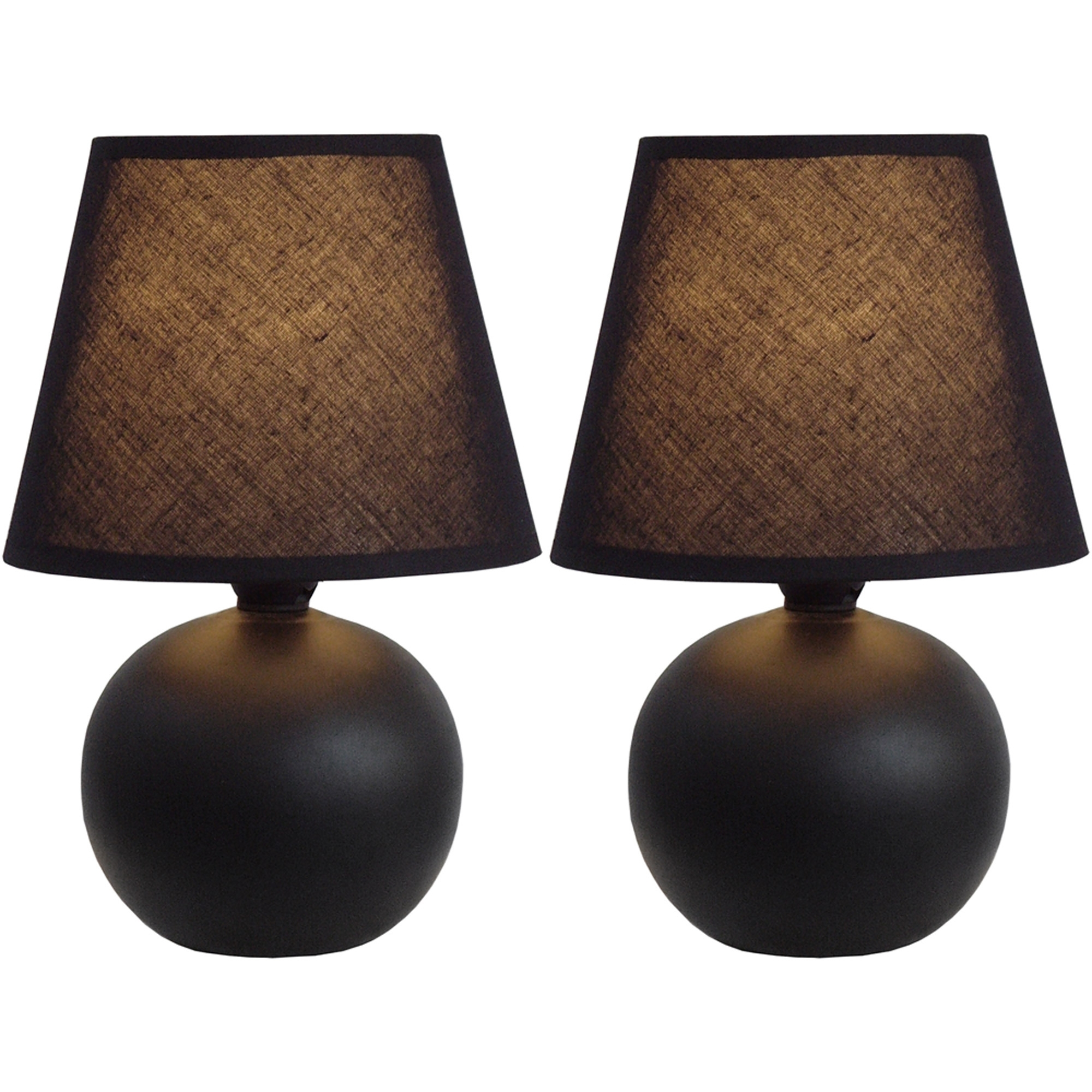 Inspiration about Table Lamp In Dark Bronze – Set Of 2 – Walmart Inside Living Room Table Lamps Sets (#2 of 15)
