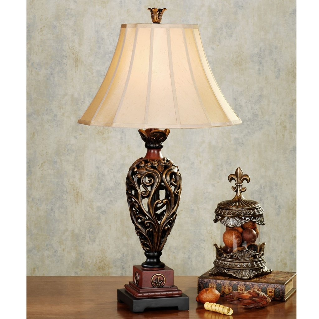 Table Lamp Traditional Table Endearing Bronze Table Lamps For Living Inside Traditional Living Room Table Lamps (#9 of 15)